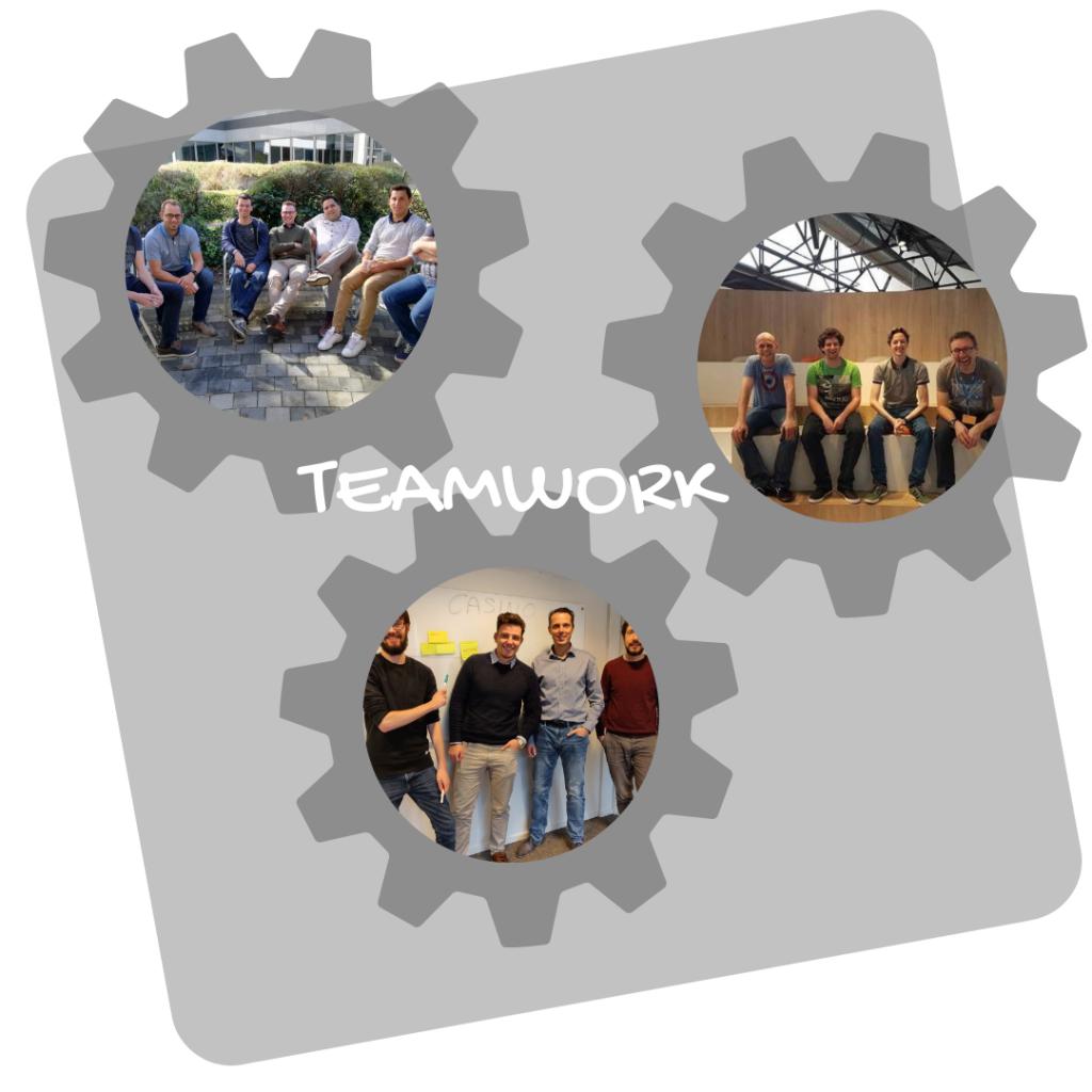 Developen in een Qframe team. Waarom is iedereen enthousiast?